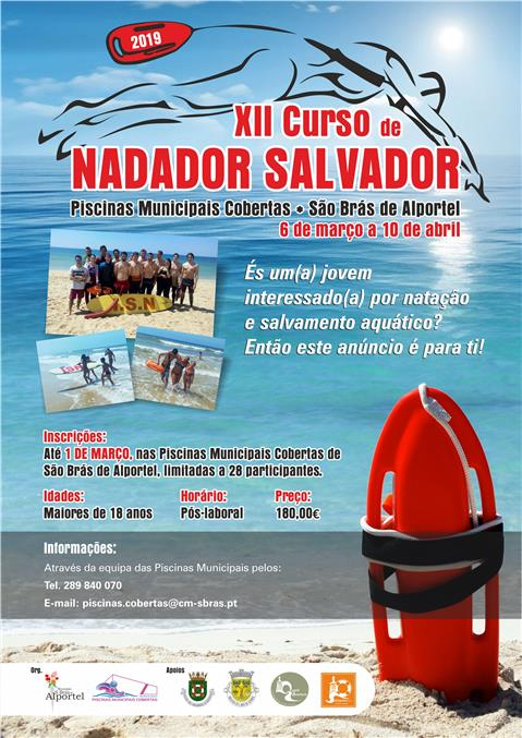 Site Autarquico Sao Bras De Alportelxii Curso De Nadador Salvador